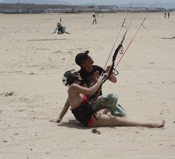 privat kite kurs Tarifa